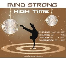 Cover of MIND STRONGs single release HIGH TIME